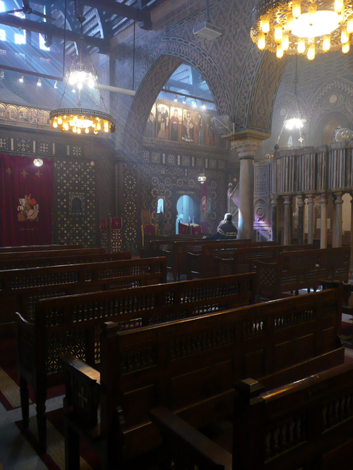 Cairo_hanging_church_interior